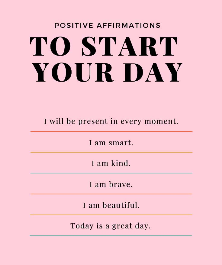 Positive Affirmations to Start Day