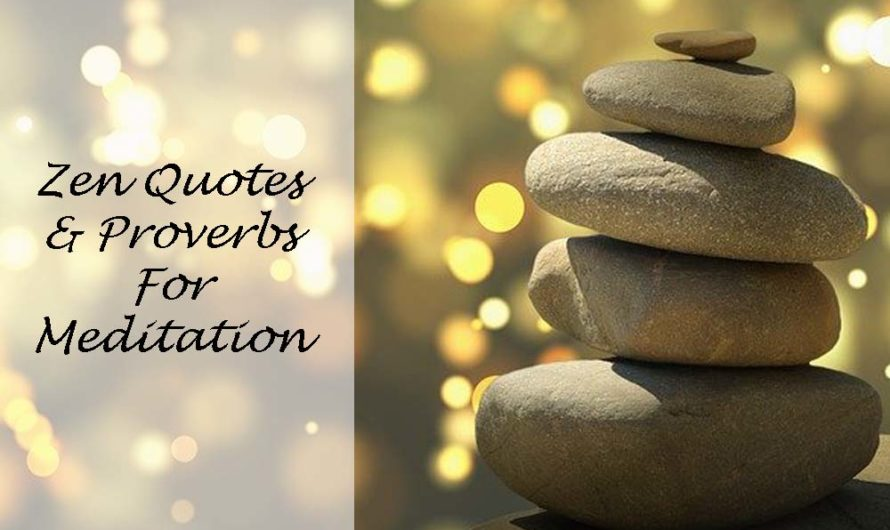 100 Zen Quotes and Proverbs for Meditation